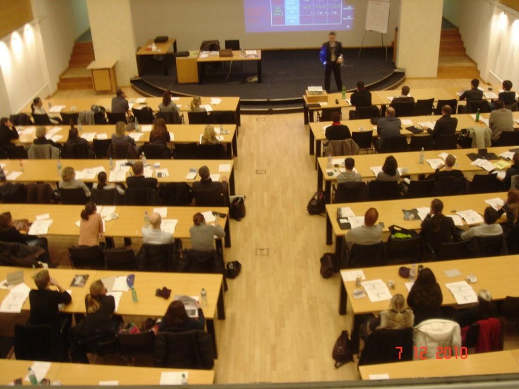 Absolventenseminar am 7. Dezember 2010 im TZU Technologiezentrum Umweltschutz in Oberhausen